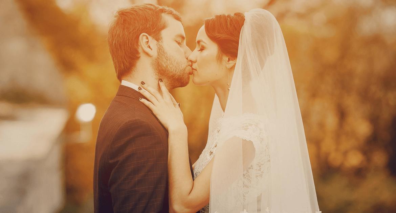 Bronzos őszi esküvő