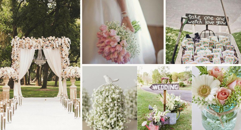A tavaszi esküvő varázsa