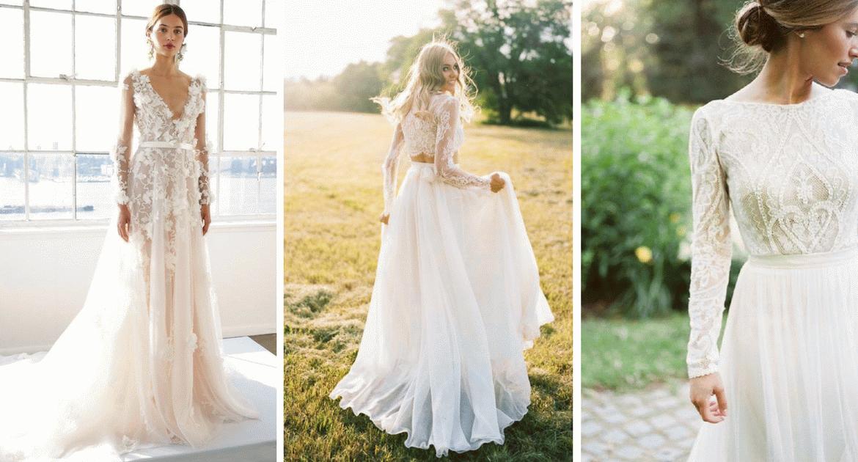 Csipke csipke hátán! Ez a menyasszonyi divat 2017-ben! – Esküvői ruha trendek idén nyáron és ősszel!