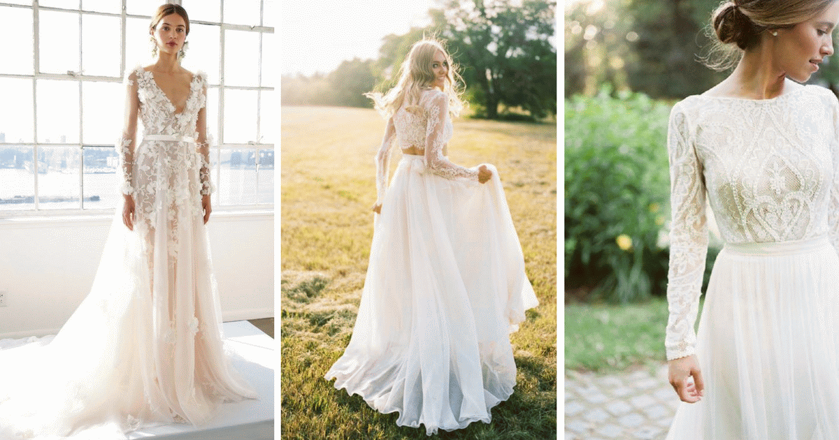 Csipke csipke hátán! Ez a menyasszonyi divat 2017-ben! - Esküvői ... b7dffc3363