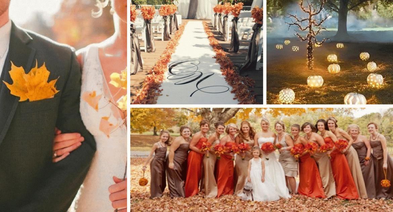 Ezért imádjuk az őszi esküvőket! Az Ön álma is valóra válhat!