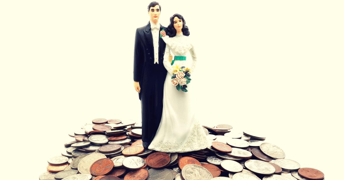 Drága esküvő - illusztráció.