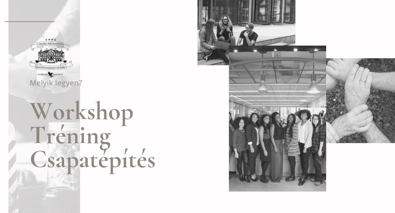 Workshop, tréning vagy céges csapatépítő? Tisztázzuk a jelentésüket!