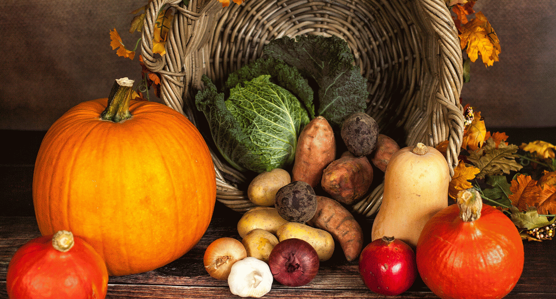 Ősz végi szezonális zöldségek, gyümölcsök, receptek!