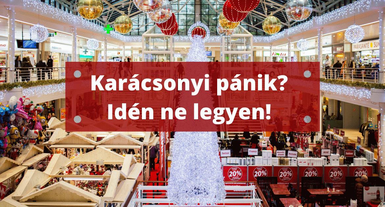 Maradjon el a szokásos karácsonyi pánik és stressz!